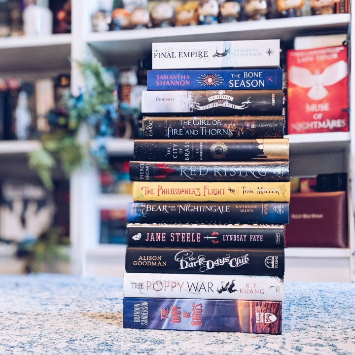 Books I want to get to in 2019