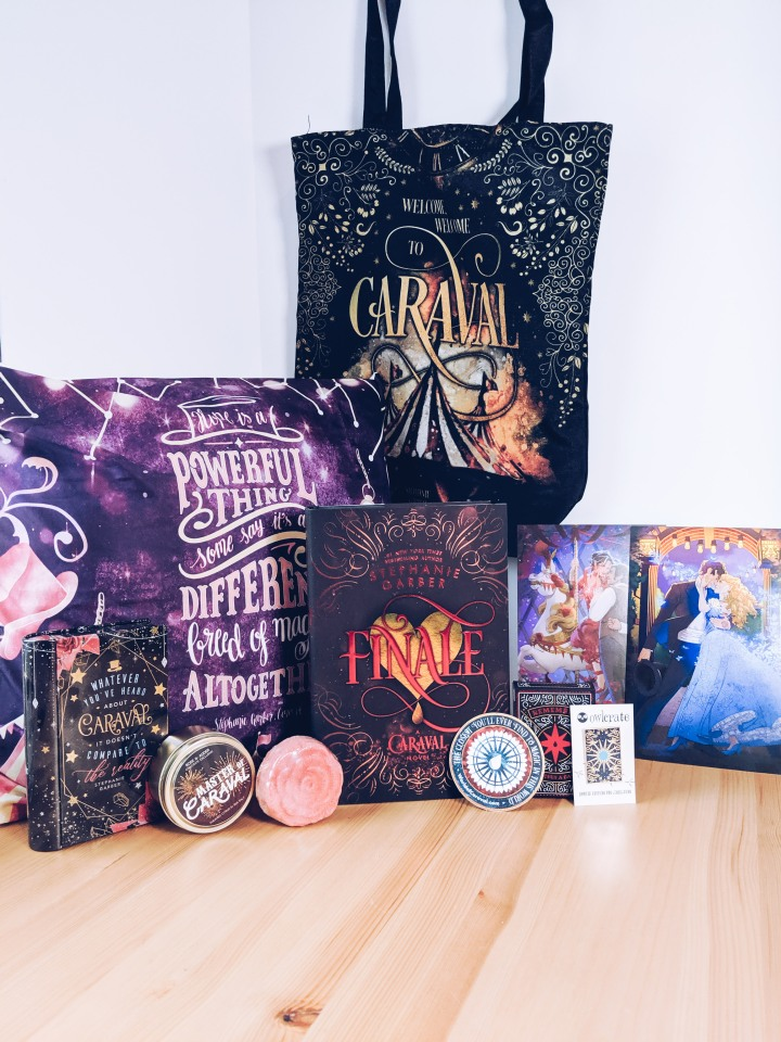 The World of Caraval box from Owlcrate