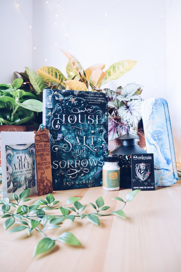 August 2019 Owlcrate unboxing